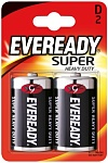 Energizer Батарейка Eveready Super Heavy Duty D/R20 2 шт
